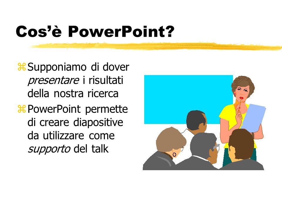 Presentazioni in Power Point Giorgio Delzanno
