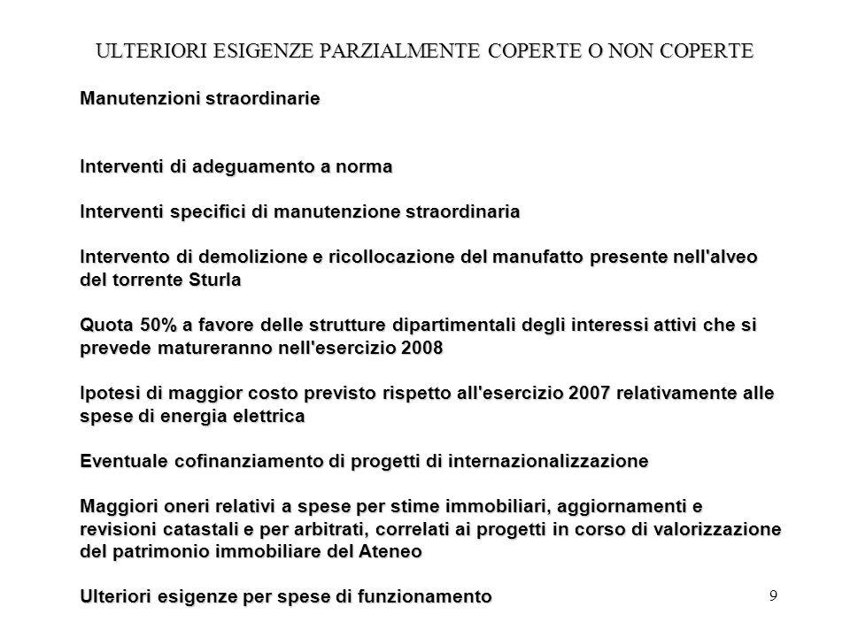 10 REPORT SPESE DI PERSONALE