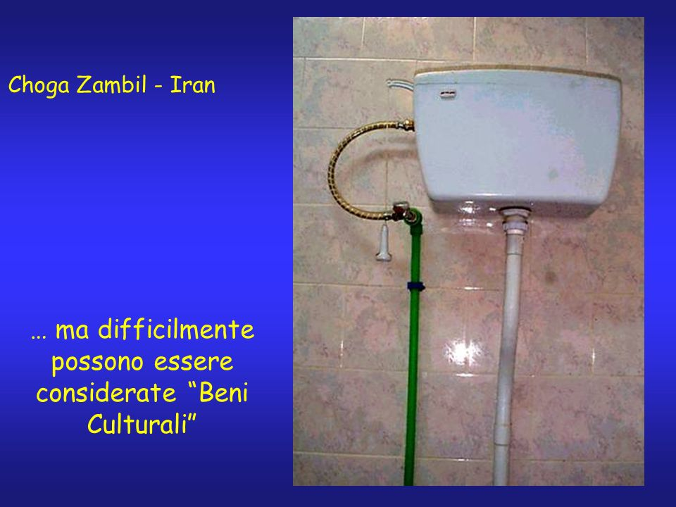 Choga Zambil - Iran … ma difficilmente possono essere considerate Beni Culturali