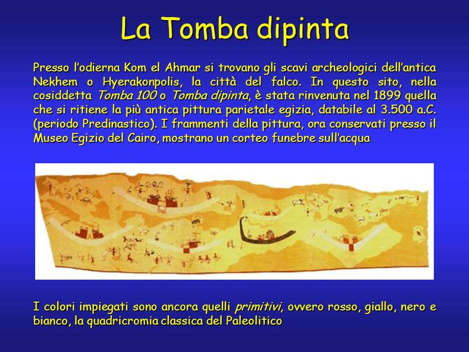 La Tomba dipinta Presso lodierna Kom el Ahmar si trovano gli scavi archeologici dellantica Nekhem o Hyerakonpolis, la città del falco.