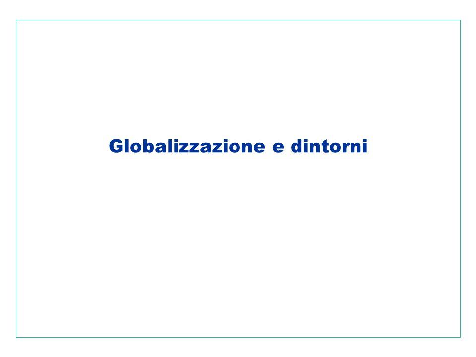 14 La dimensione ambientale La globalizzazione ha ovviamente unimportante dimensione ambientale.