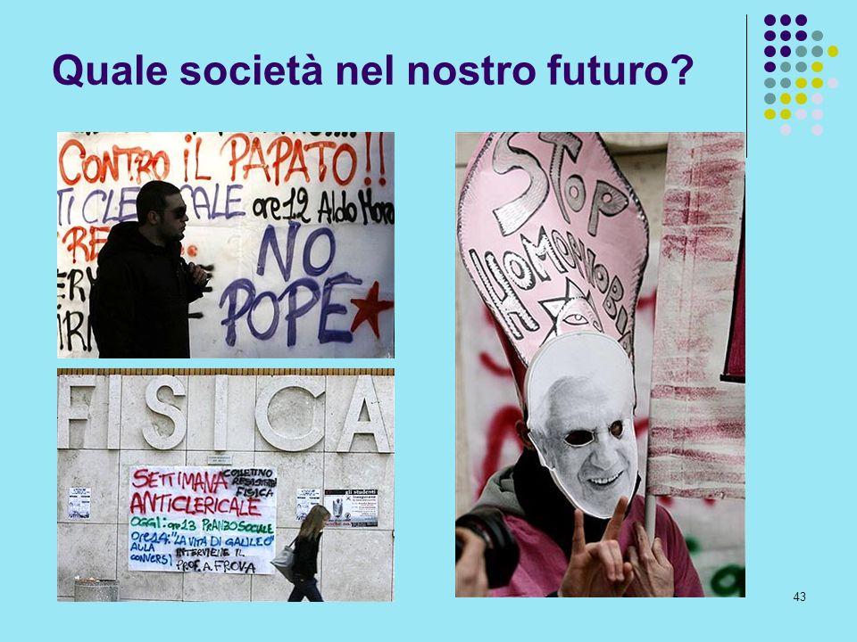 43 Quale società nel nostro futuro?