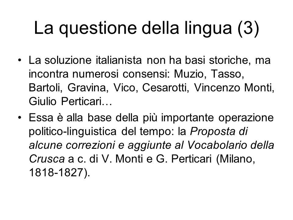 Excursus: litaliano è il fiorentino letterario codificato nel XVI secolo (1) dittongamento di ŏ ed ĕ sotto accento in sillaba libera (bonum > buono; levitum > lievito ecc.); Anafonesi (tipi consĭlium> conseglio > consiglio; fŭngum > fongo > fungo) Chiusura di e protonica del lat.
