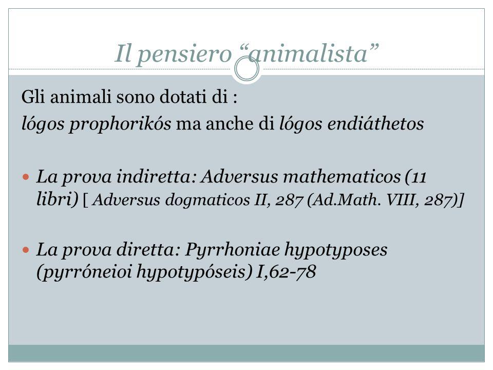 La prova indiretta : lAdversus dogmaticos Adv.math.