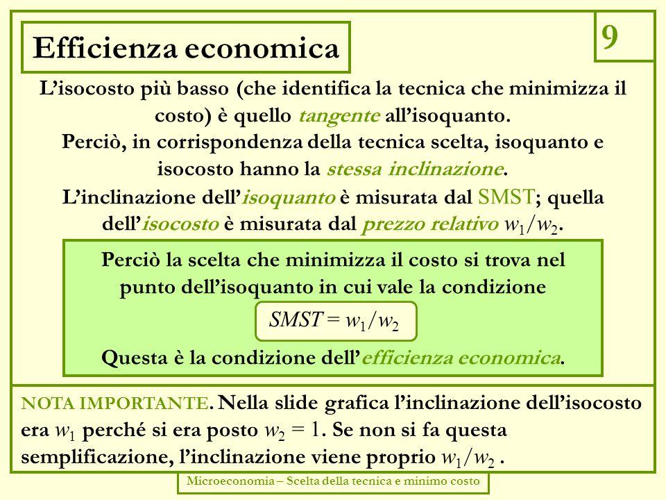 Concorrenza imperfetta 10 Forme di mercato (concorrenza imperfetta) Corso di economia politica - lezioni del prof.