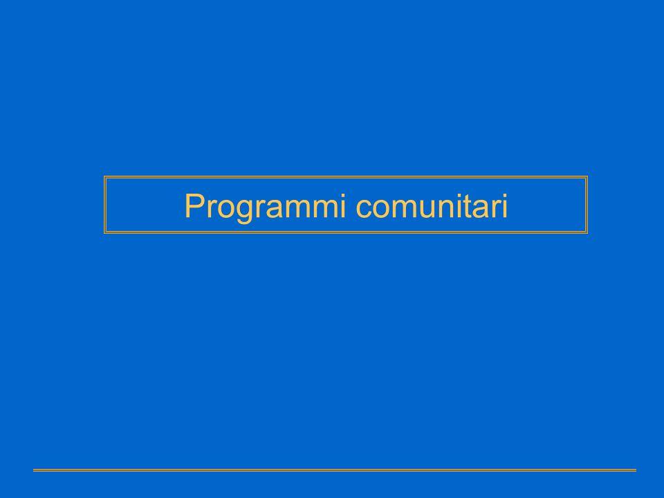 Programmi comunitari Grant Vademecum Grant Disciplina Specifica del Programma Regolamento finanziario 1605 del 25-6-2002 Modalità di attuazione Unione Europea Programmi – Strumenti contrattuali Grant – Base giuridica