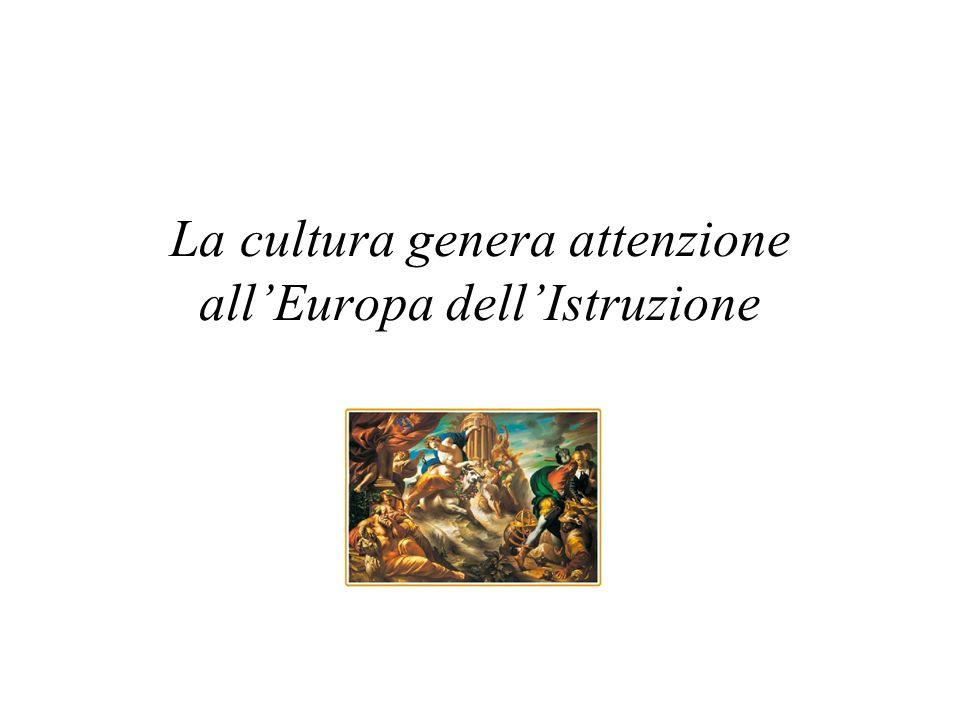 La cultura entra nellanima delle persone