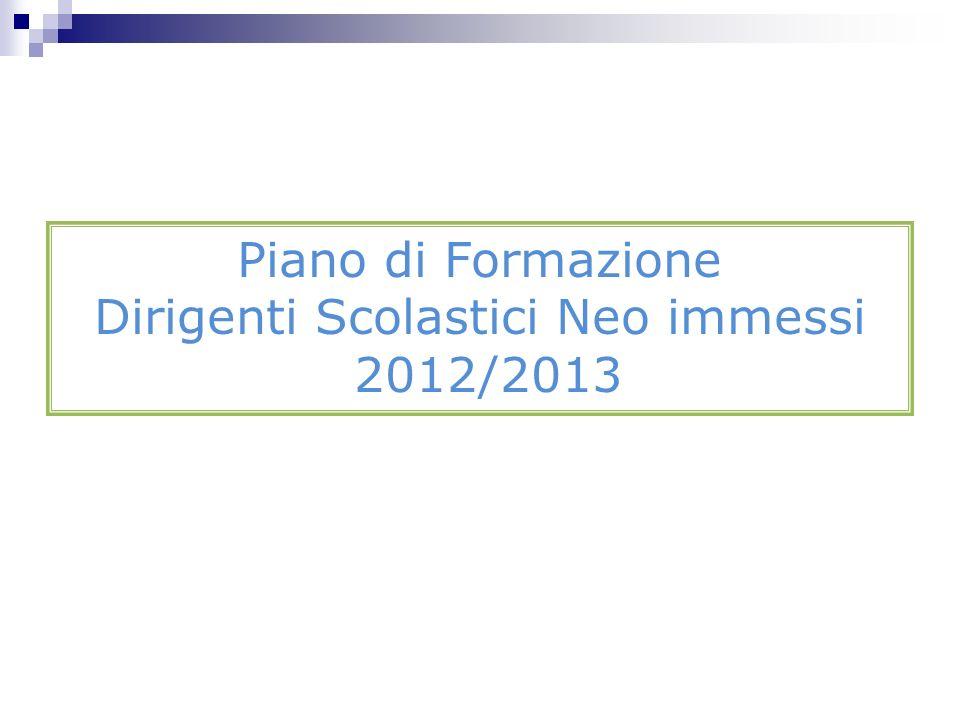 Accompagnamento DS neoassunti 2012/2013 3) LE-Portfolio