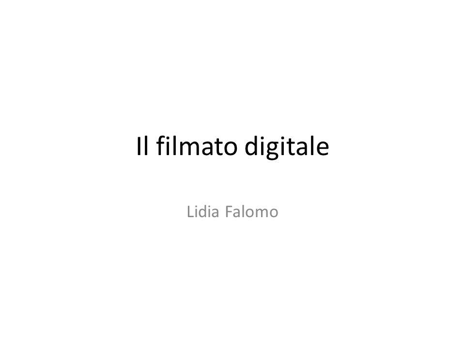 Il filmato digitale Lidia Falomo