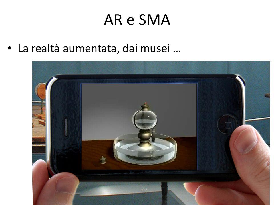 AR e SMA La realtà aumentata, dai musei …