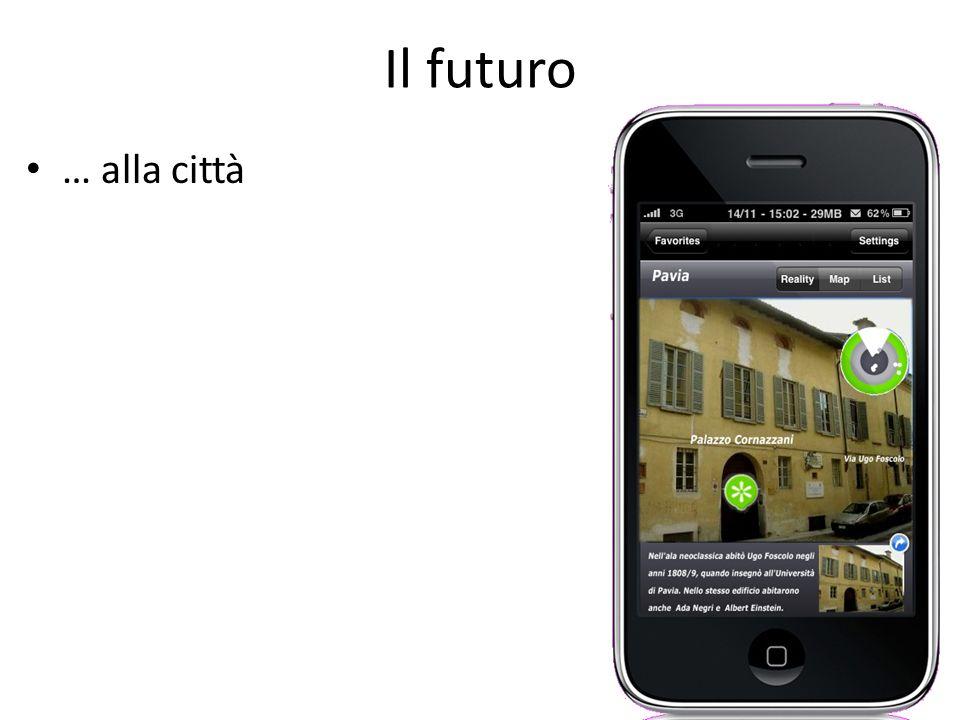 Il futuro … alla città