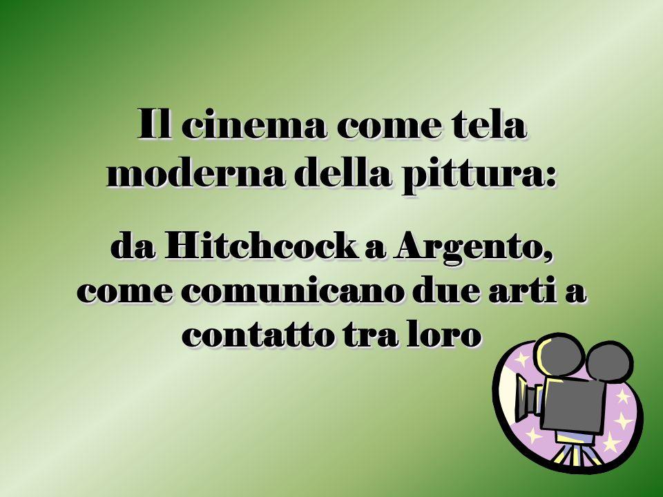 Il cinema come tela moderna della pittura: da Hitchcock a Argento, come comunicano due arti a contatto tra loro