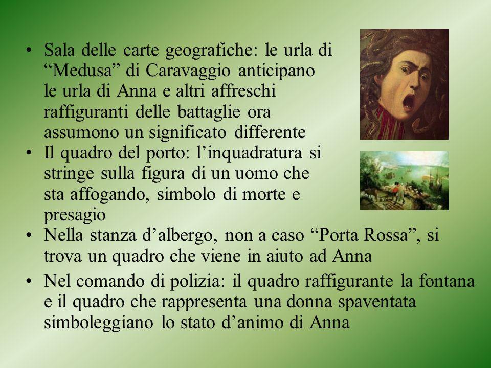 Sala delle carte geografiche: le urla di Medusa di Caravaggio anticipano le urla di Anna e altri affreschi raffiguranti delle battaglie ora assumono u