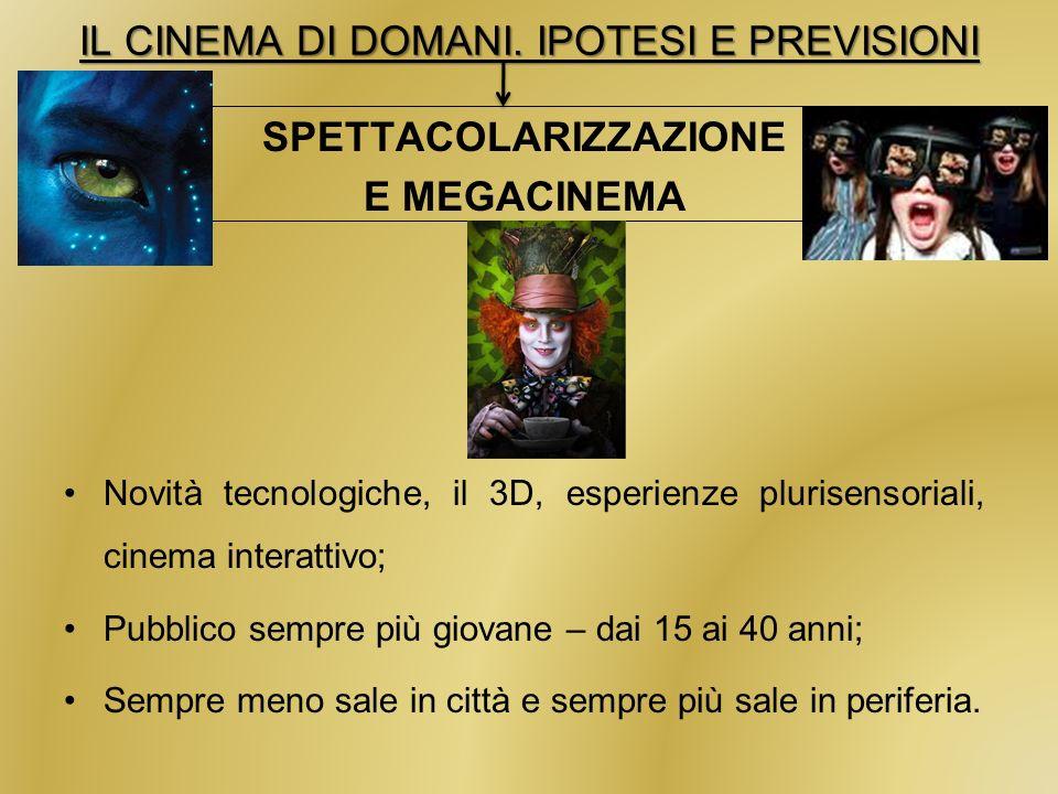 IL CINEMA DI DOMANI.