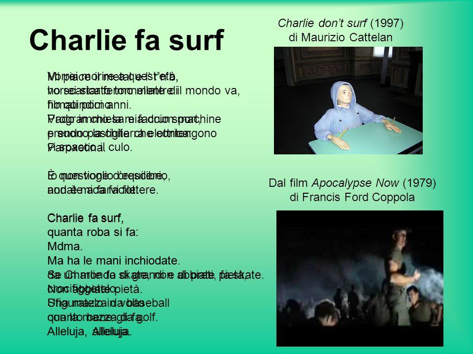 Charlie fa surf Mi piace il metal e l rnb, ho scaricato tonnellate di filmati porno.