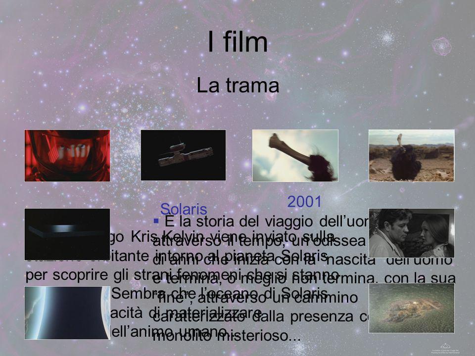 I film La trama È la storia del viaggio delluomo attraverso il tempo, unodissea di migliaia di anni che inizia con la nascita delluomo e termina, o me
