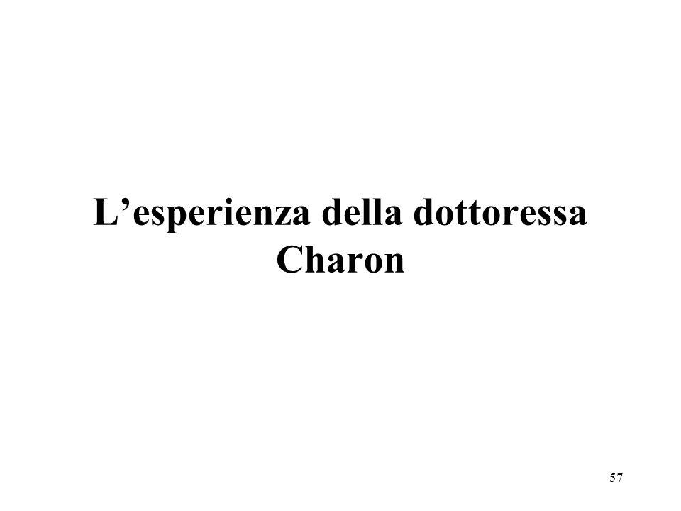 57 Lesperienza della dottoressa Charon