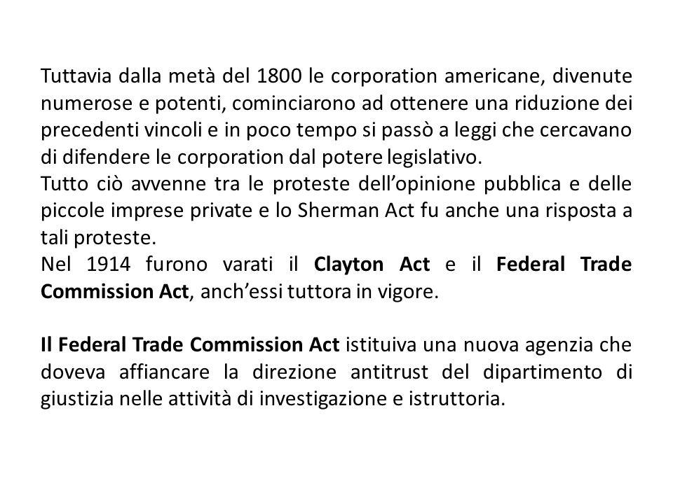 Lattuale normativa antitrust europea è disciplinata dagli articoli 101-109 del trattato sul funzionamento dellUnione Europea di Lisbona e dal regolamento n.