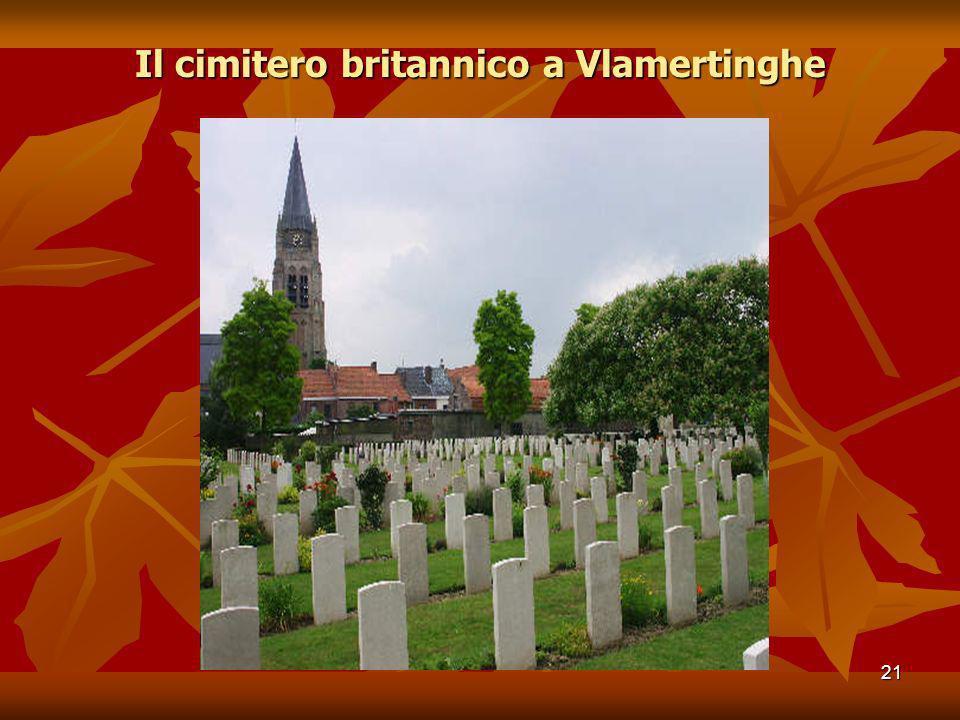 21 Il cimitero britannico a Vlamertinghe