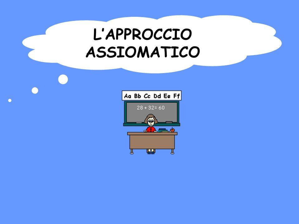 LAPPROCCIO ASSIOMATICO