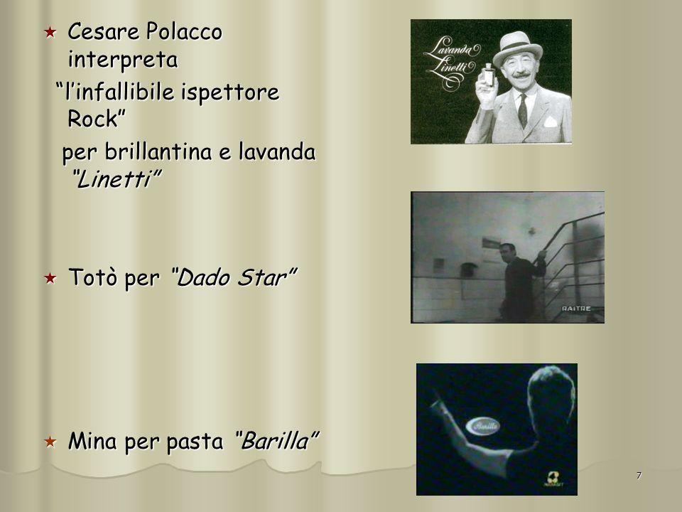 7 Cesare Polacco interpreta Cesare Polacco interpreta linfallibile ispettore Rock linfallibile ispettore Rock per brillantina e lavanda Linetti per br