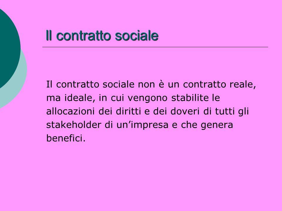 Il contratto sociale Il contratto sociale non è un contratto reale, ma ideale, in cui vengono stabilite le allocazioni dei diritti e dei doveri di tut