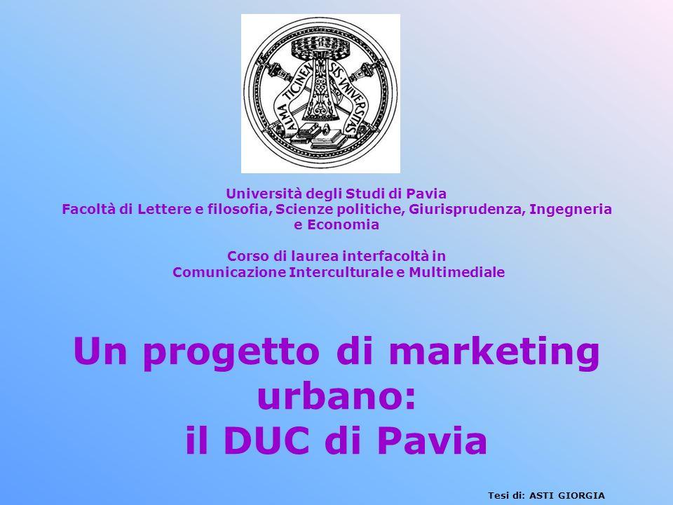 Università degli Studi di Pavia Facoltà di Lettere e filosofia, Scienze politiche, Giurisprudenza, Ingegneria e Economia Corso di laurea interfacoltà