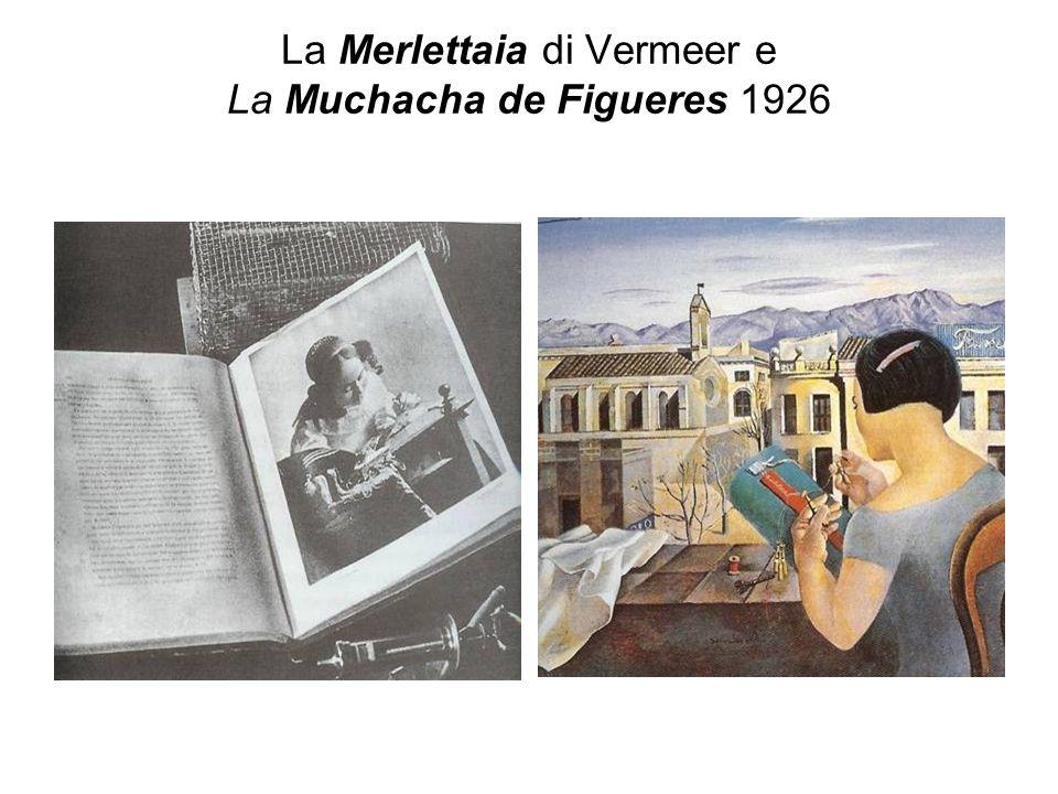 La Merlettaia di Vermeer e La Muchacha de Figueres 1926