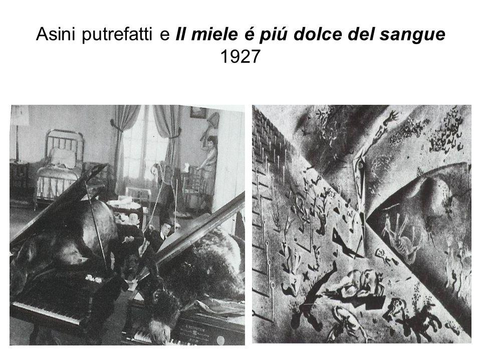 Asini putrefatti e Il miele é piú dolce del sangue 1927