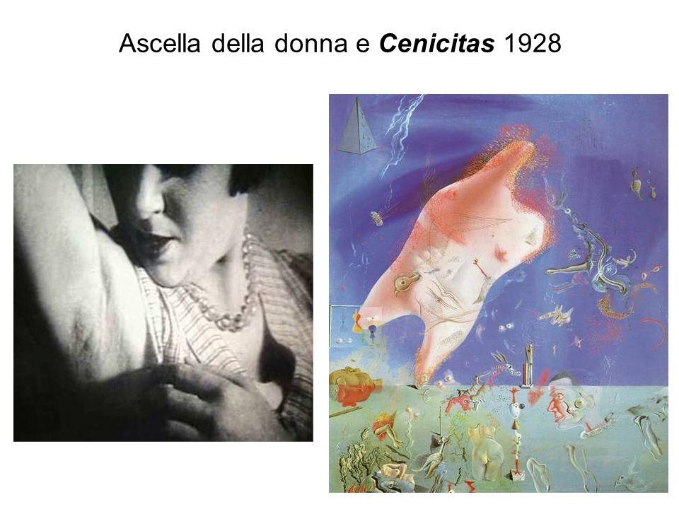 Ascella della donna e Cenicitas 1928
