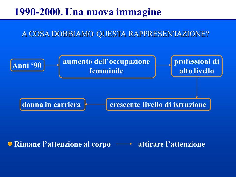 1990-2000.Una nuova immagine A COSA DOBBIAMO QUESTA RAPPRESENTAZIONE.