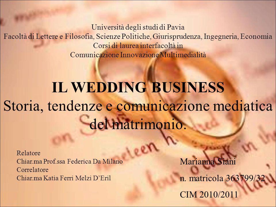 Marianna Siani n. matricola 363799/32 CIM 2010/2011 Università degli studi di Pavia Facoltà di Lettere e Filosofia, Scienze Politiche, Giurisprudenza,
