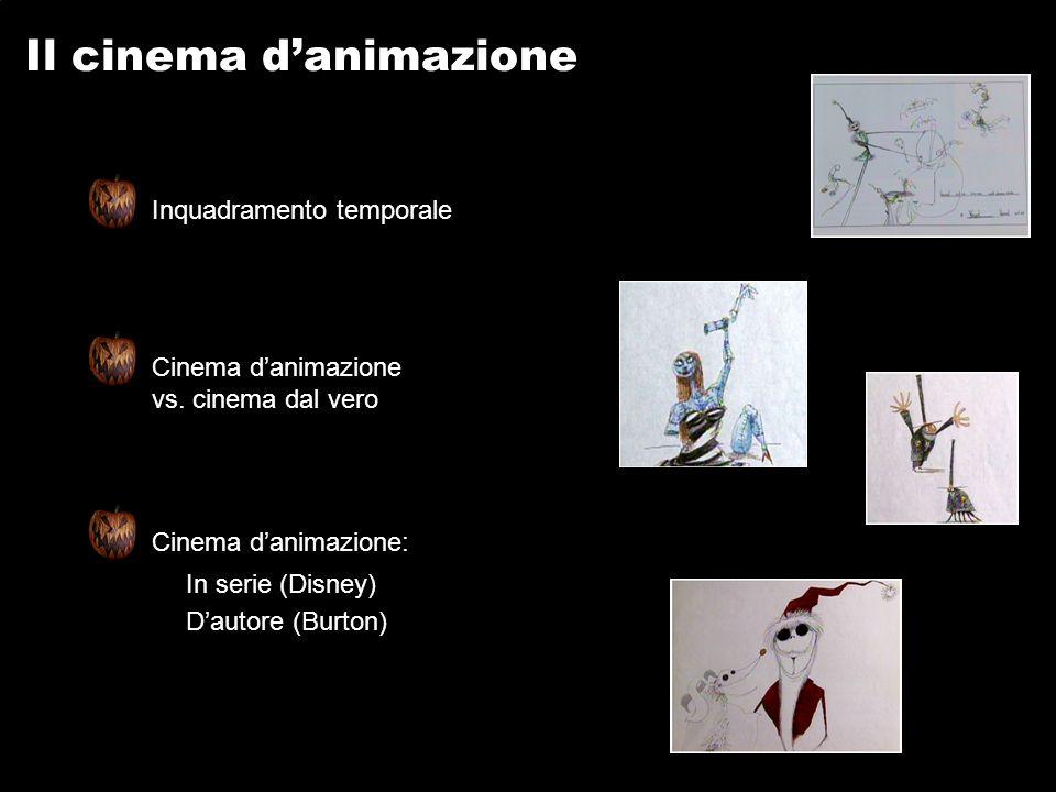 Il cinema danimazione Inquadramento temporale Cinema danimazione vs.