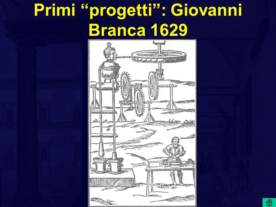 Primi progetti: Giovanni Branca 1629