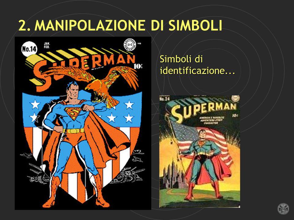 2. MANIPOLAZIONE DI SIMBOLI Simboli di identificazione...