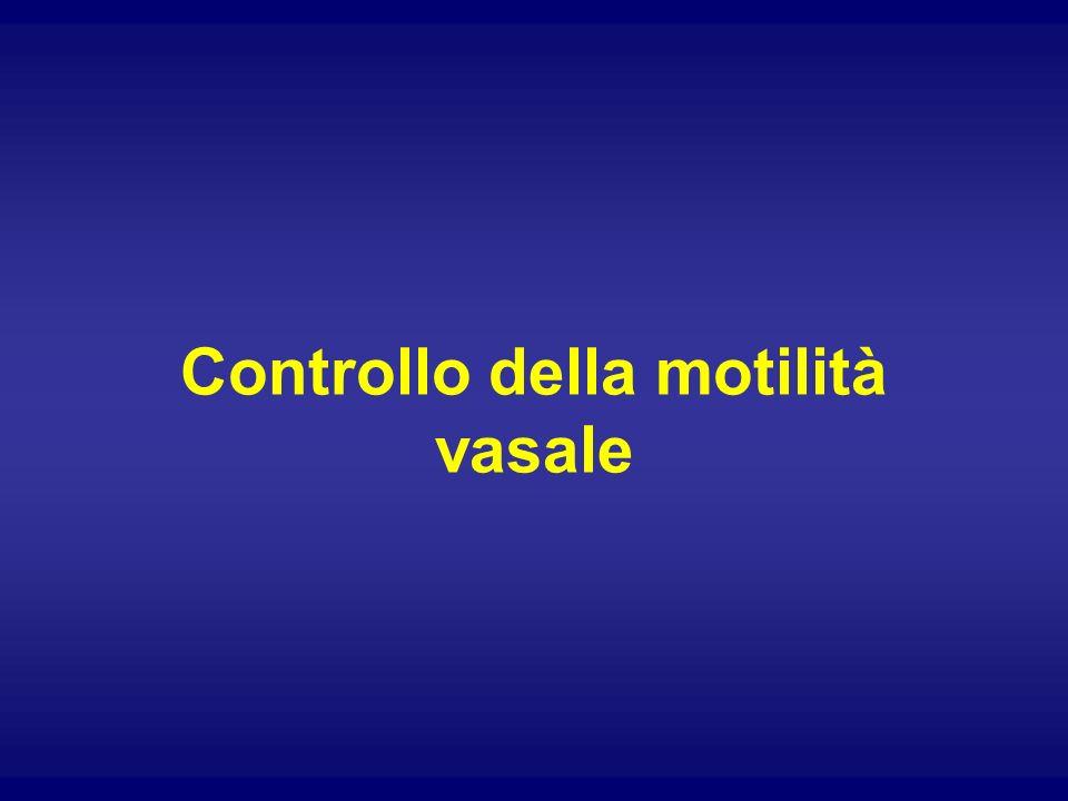 Controllo della motilità vasale