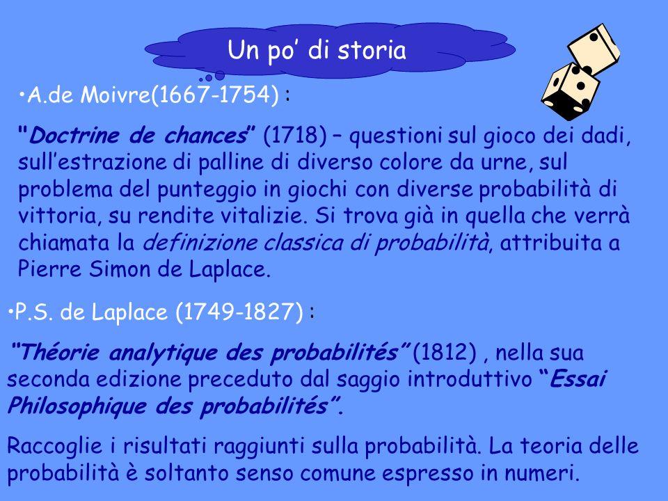 A.de Moivre(1667-1754) :