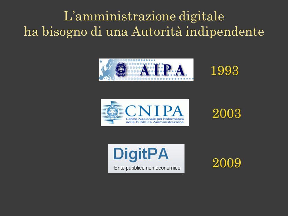 Lamministrazione digitale ha bisogno di una Autorità indipendente