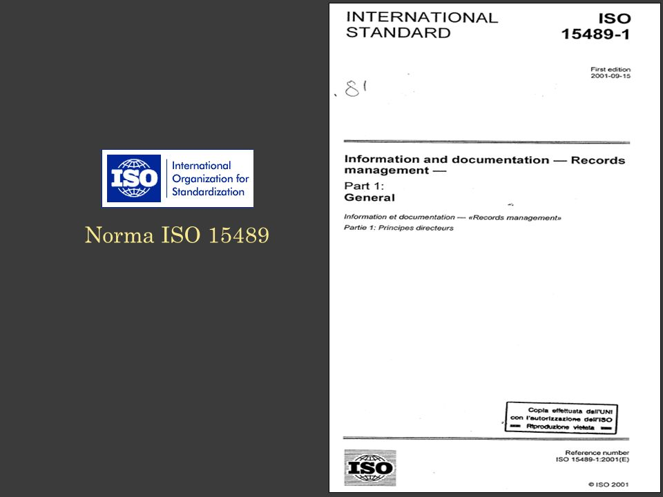 Norma ISO 15489