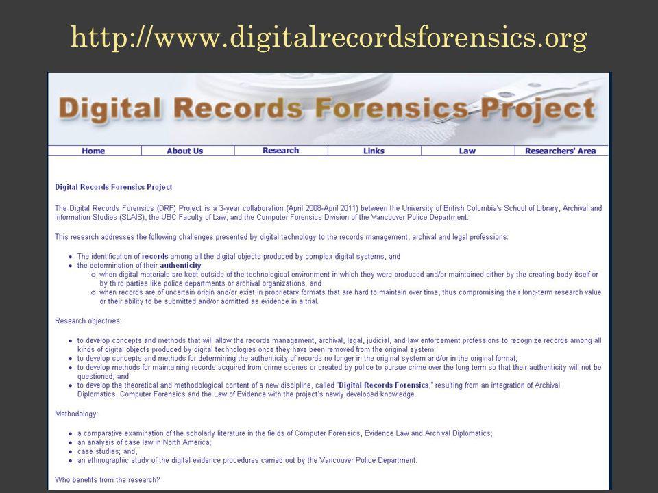 http://www.digitalrecordsforensics.org