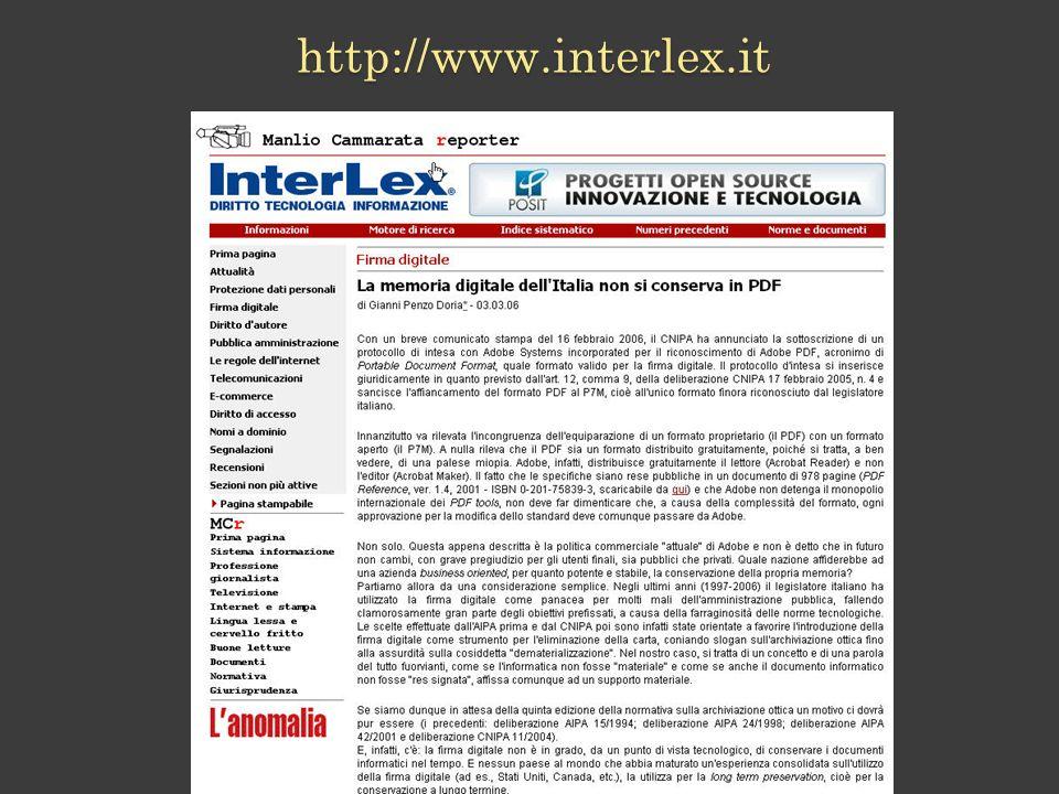 http://www.interlex.it
