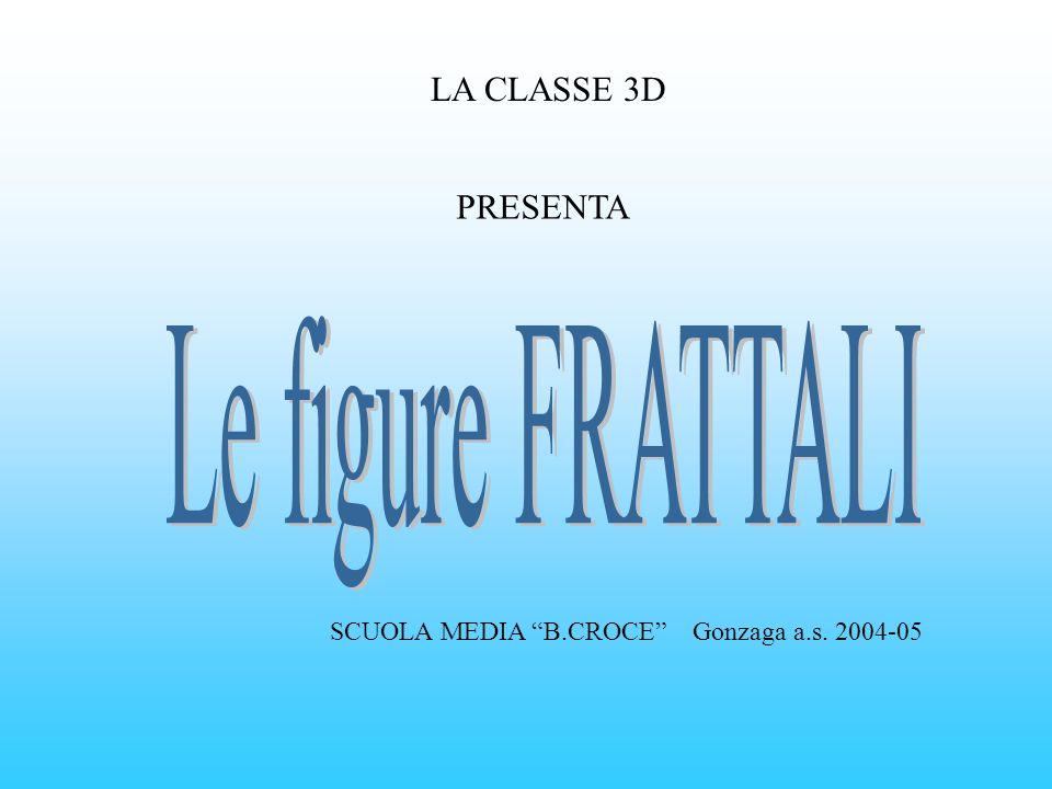 LA CLASSE 3D PRESENTA SCUOLA MEDIA B.CROCE Gonzaga a.s. 2004-05