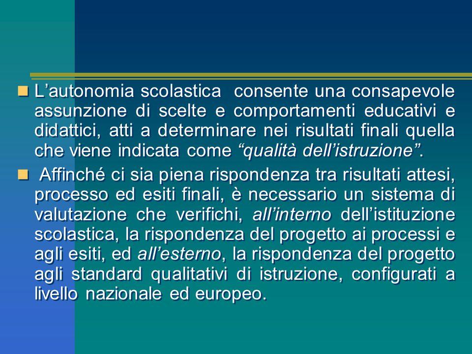 I saperi, con la scuola dellautonomia, vengono organizzati per aree tematiche che consentono di acquisire le competenze previste, e le discipline dive