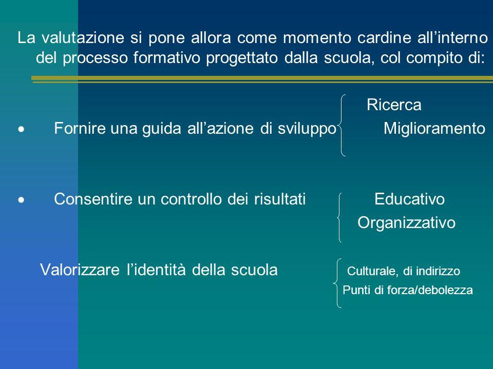 Lautonomia scolastica consente una consapevole assunzione di scelte e comportamenti educativi e didattici, atti a determinare nei risultati finali que