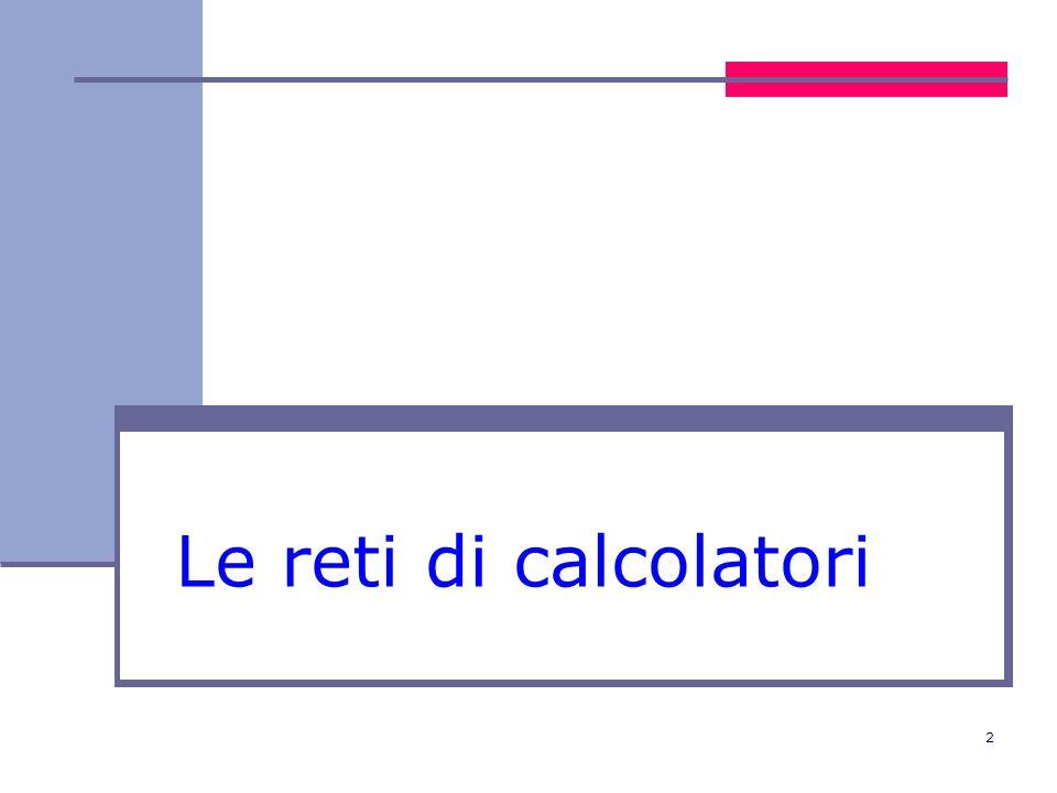 13 Topologia ad anello Reti ad anello i nodi sono organizzati secondo una configurazione ad anello e non sono tutti direttamente collegati in genere, il segnale emesso da un nodo passa al nodo successivo e se non è indirizzato a quel nodo viene ritrasmesso al nodo seguente, finché non raggiunge il destinatario