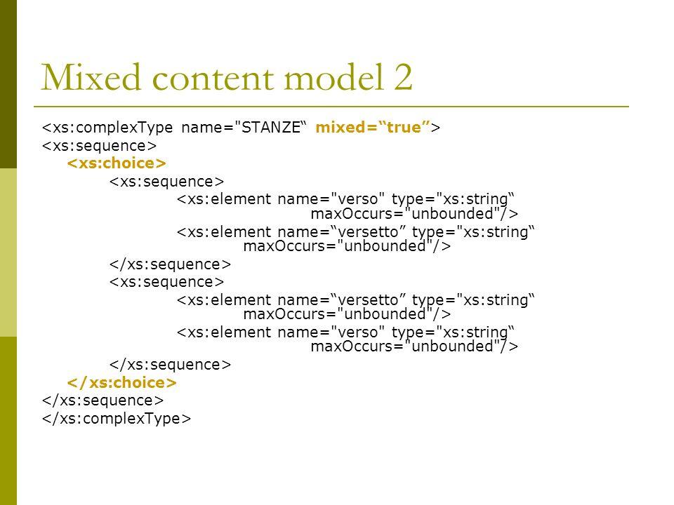 Mixed content model 2