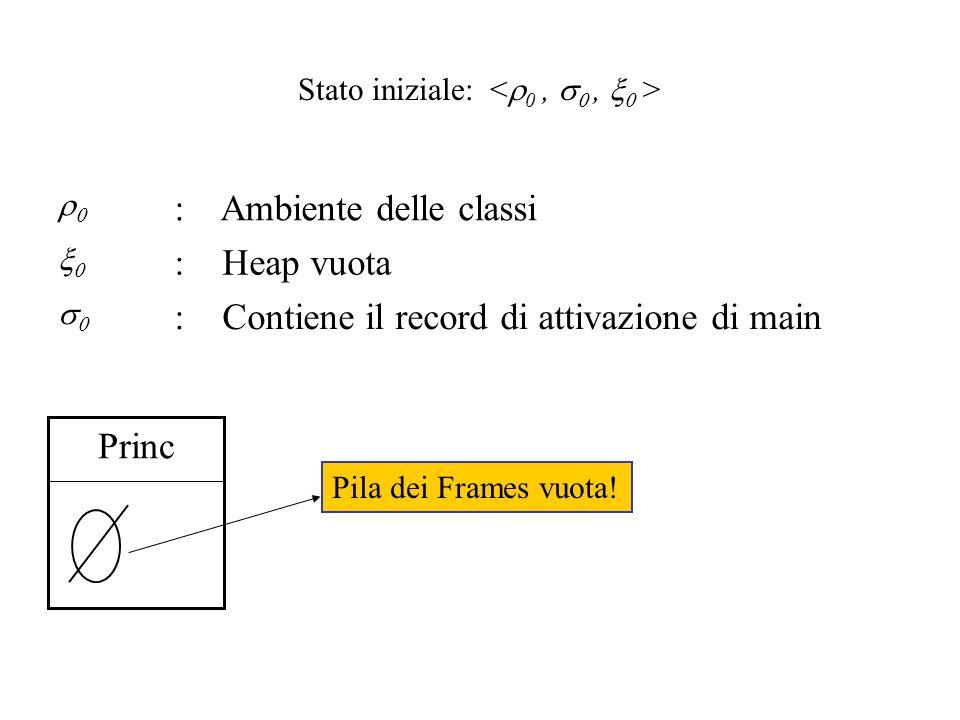 Prima Istruzione del main: Up.w = 5; com Modifica solo l ambiente delle classi.