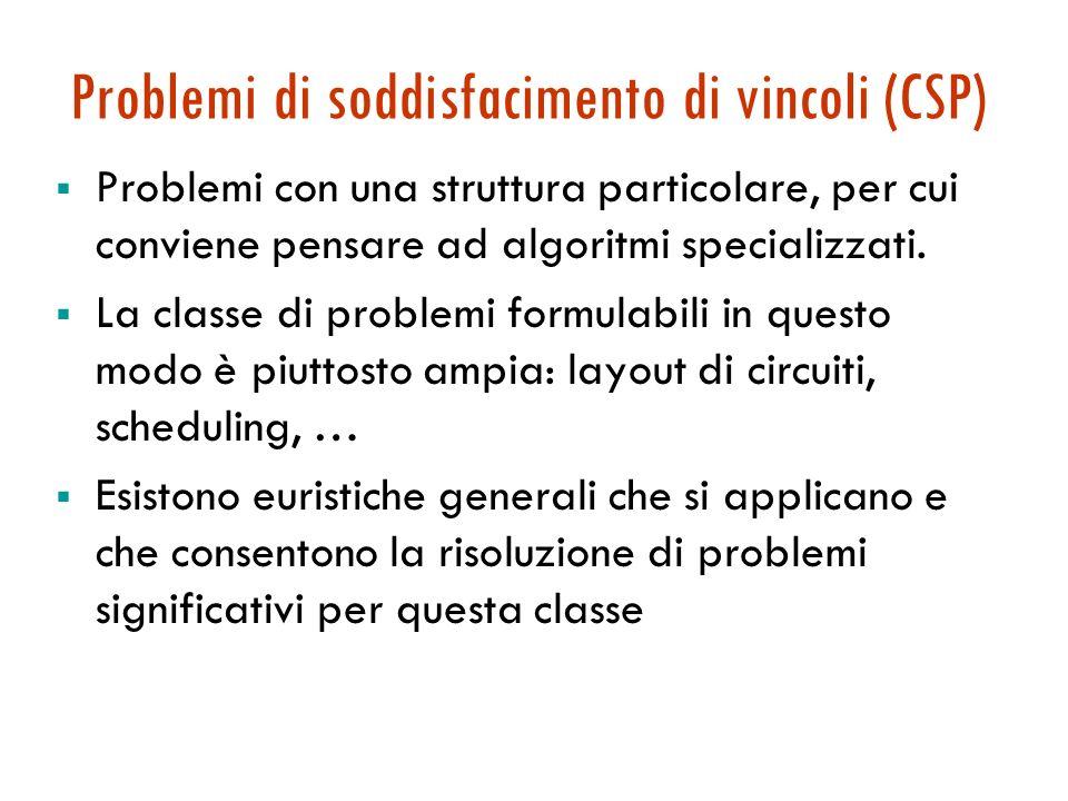Problemi di soddisfacimento di vincoli Maria Simi a.a. 2005/2006