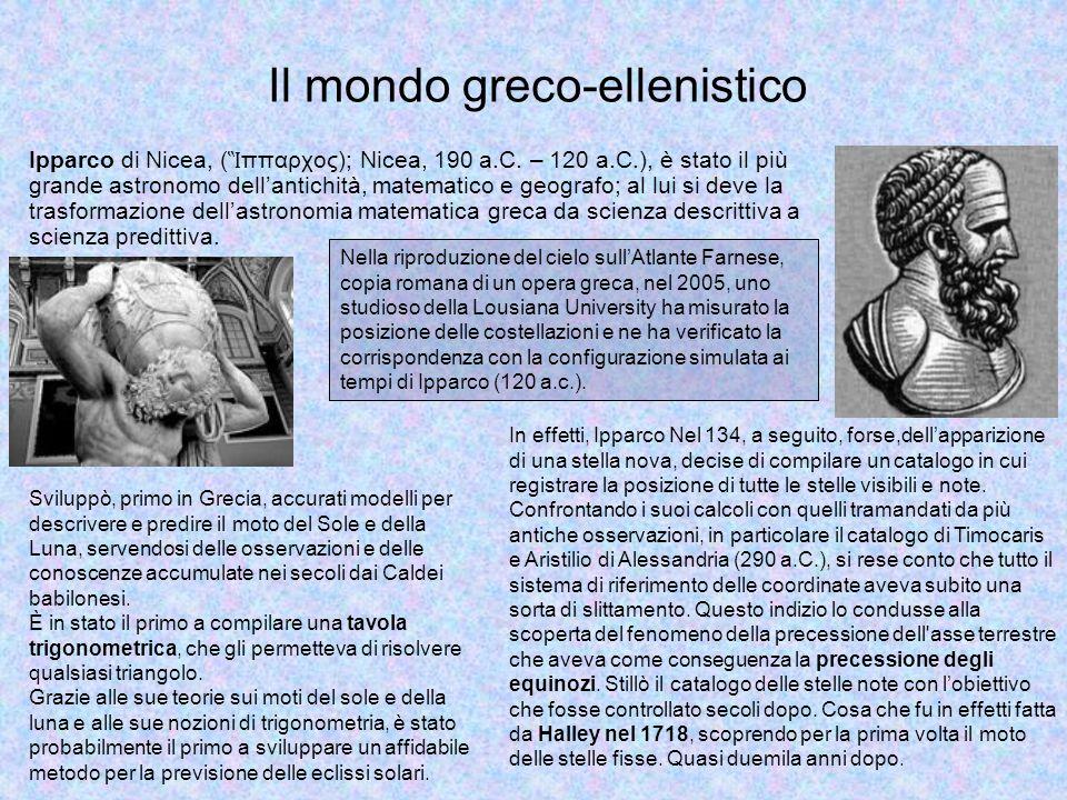 Eratostene di Cirene intorno al 230 a.C.misurò per la prima volta il diametro della Terra.