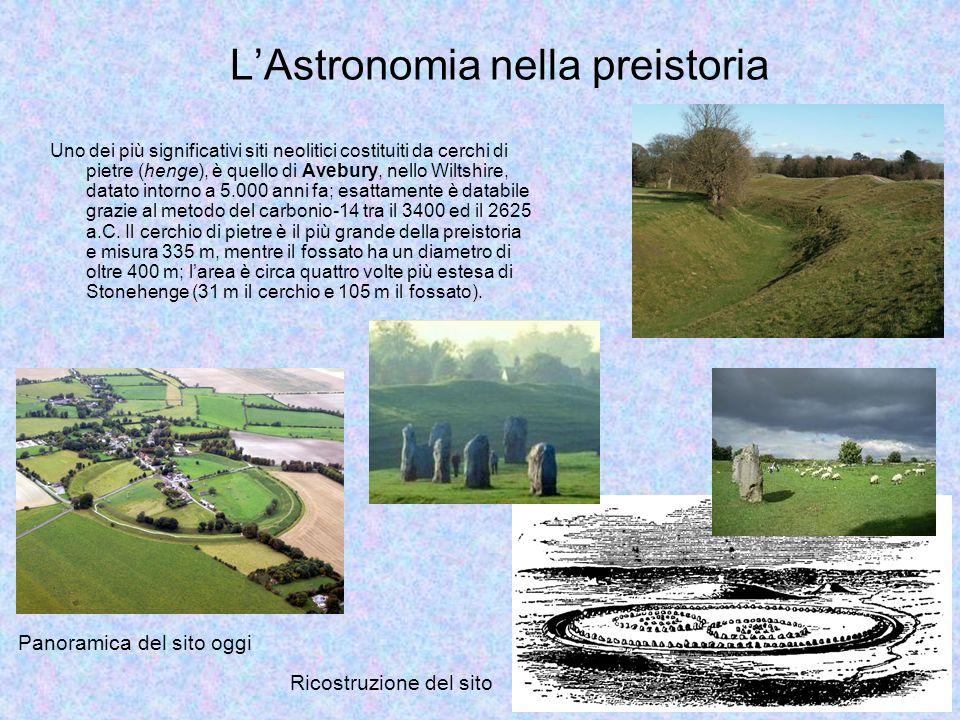 Uno dei più significativi siti neolitici costituiti da cerchi di pietre (henge), è quello di Avebury, nello Wiltshire, datato intorno a 5.000 anni fa;